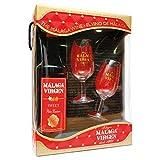 Málaga Virgen Sweet - Estuche 75 cl + 2 catavinos - Vino de licor dulce D.O.'Málaga'
