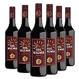 Sol de Málaga - Pack 6 botellas de 75cl - Vino de licor dulce D.O.'Málaga'