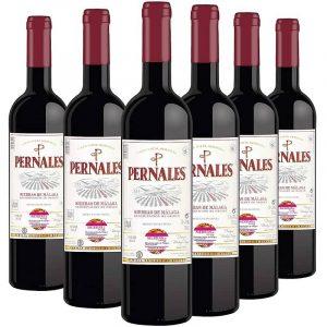 Pack Pernales Syrah con 6 botellas de Vino tinto Sierras de Málaga