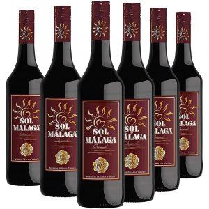 Pack Sol de Málaga con 6 botellas