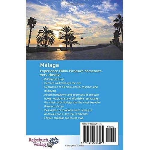 Travel guide Málaga The Capital of the Sun Coast [Idioma Inglés]