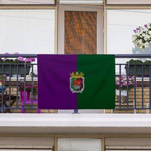 Bandera de Málaga Sin Palo 150x85cm
