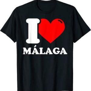 I love Málaga Camiseta
