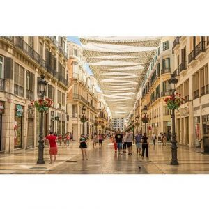Cuadro Calle Larios Málaga Oedim