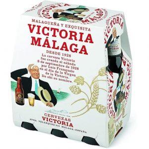 Victoria Cerveza en botella de cristal